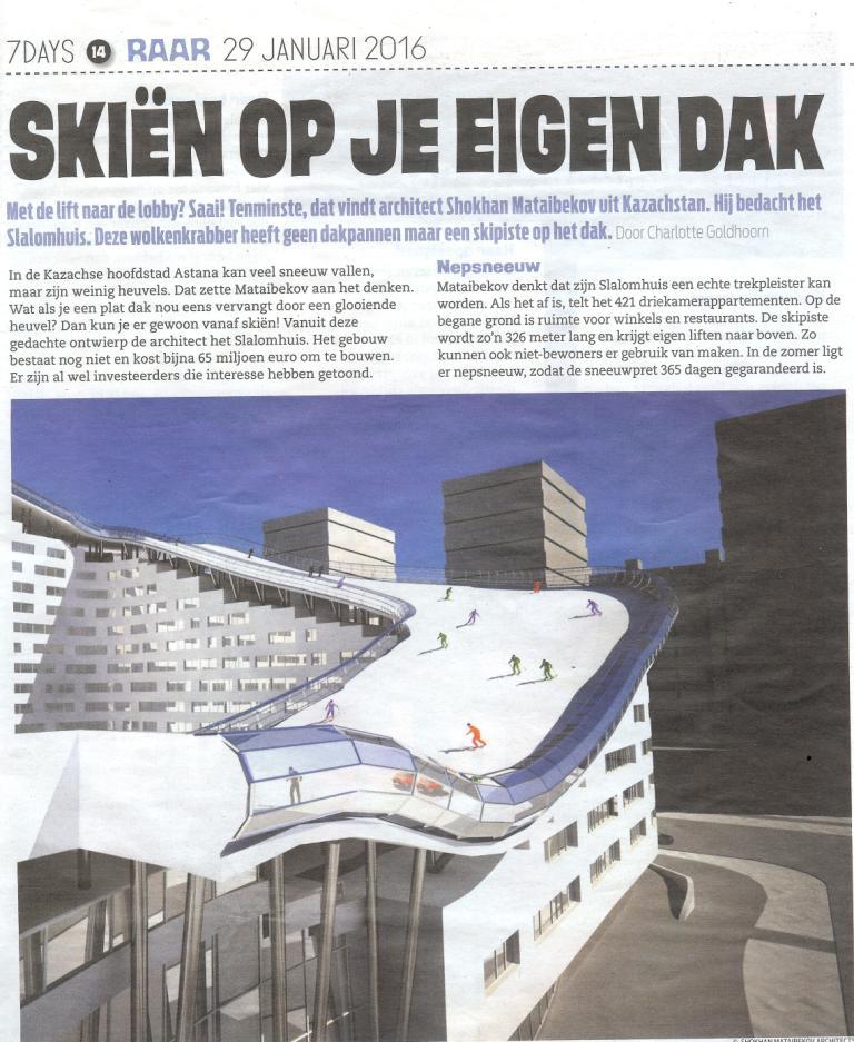 web 7days skien op je dak